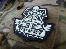 JTG GhostShip Skull Patch Version One, gid / JTG 3D Rubber Patch