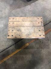 "Elkay Solid Platform Wood Dolly Truck 16"" x 24"""