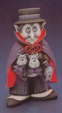 """Dracula and Friends ready to paint 15"""" ceramic bisque"""