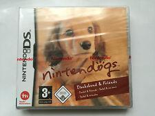 Nintendogs in miniatura bassotto & FRIENDS PER NINTENDO DS, DSi & 2DS (SIGILLATO)