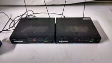 Lot Of 2 Shure Sc4 Wireless Receiver Marcad Diversity W/Power Cord/Antenna'S