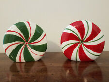 Christmas Gumdrop Salt And Peper Shakers Holiday Decoration Winter Time Decor