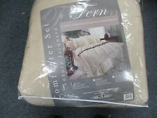 Comforter Set Full Size 4 piece set super heavy weight Jacquard Linen Brand New