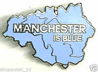 Manchester City Badge Pin Manchester Is Blue Football Gifts