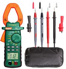 Clamp Meter Multimeter Voltage Tester Rms Amp True Test Digital Dc Ac Volt New