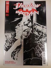 THE SHADOW BATMAN #4 (OF 6) (2018) 1ST PRINT SCARCE 1:10 TAN B&W VARIANT COVER F