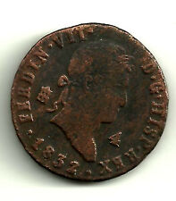 FERNANDO VII. 4 MARAVEDI DE 1832. CECA DE SEGOVIA