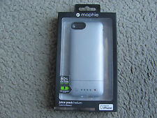 Mophie Juice Pack Helium Case and Rechargeable Battery for iPhone 5 & 5S Silver