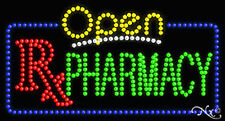 "New ""Open Pharmacy"" 32x17 Solid/Animated Led Sign W/Custom Options 25554"