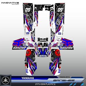 Yamaha Banshee 350 Decal Graphics Kit