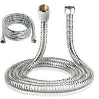 3M Extra Long Shower Head Hose Handheld Stainless Steel Bathroom Flexible Tube