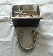 10x6.5x7 Stainless Steel Sink Pitcher Riser 1/4 Size