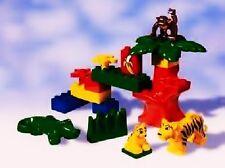 Lego Duplo 2864 Animal Friends Tier Freunde Krokodil Tieger Affe Alligator Monke