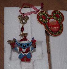 Disney Store Lilo y Stitch Ornamento de árbol de Navidad Decoración Adorno