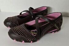 Skechers Youth Girls Mary Jane's Pink Bedazzled Size U.S. 5  U.K. 4 EUR 37