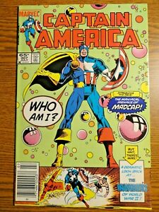 Captain America #307 Hot Newsstand Key VF 1st Madcap Deadpool 3 Movie? Marvel