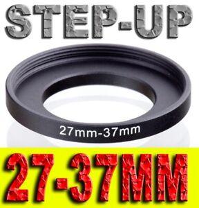 STEP UP 27-37MM ADATTATORE RING ADAPTER 27MM 37MM 27-37 27 37 MM 27MM-37MM