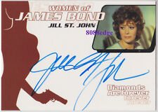 "2003 WOMEN OF JAMES BOND IN MOTION AUTO: JILL ST. JOHN #WA1 AUTOGRAPH ""TIFFANY""B"