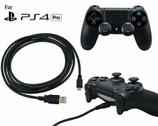2m Play + Charging Charger Lead Cable For PlayStation PS4 Pro Controller GamePad