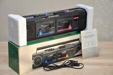 INTERNATIONAL M-5000 stereo radio cassette recorder rare 80's