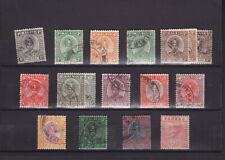 MALAYA PAHANG 1935 SULTAN Values to $1 - GOOD USED (L333)