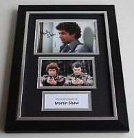 Martin Shaw Signed A4 FRAMED photo Autograph display Inspector George Gently COA