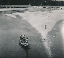 COIMBRA c. 1950 - Promenade en Barque sur le Rio Mondego Portugal - Div 7150
