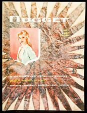 Vintage Adult Entertainment~Nugget Magazine~May 1957~Salvador Dali