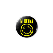 Nirvana 1.25in Pins Buttons Badge *BUY 2, GET 1 FREE*