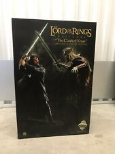 SIDESHOW Aragon VS King of the Dead Lord of Rings 130/300 Très Rare