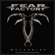 FEAR FACTORY - Patch Aufnäher Mechanize 10x10cm