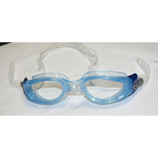 Aqua Sphere Kaiman Swimming Triathalon Goggle Mask Trans Blue with Clear Lens