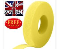 VELCRO® Brand Hook and loop ONE-WRAP® back 2 back Strapping 10mm Yellow X 5metre