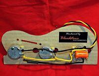 Ready Built Fender USA Precision Jazz PJ Bass Wiring Upgrade / Loom / Harness