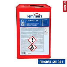 Remmers FUNCOSIL SNL Imprägnierung Farblos - 30Liter