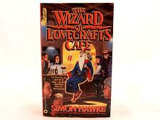 VG! The Wizard of Lovecraft's Cafe by Simon Hawke 1993 Questar Fantasy Paperback