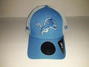 Detroit Lions NFL New Era Stretch Fit Hat    Size Lg/XL