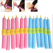 12pcs Women Foam Curlers Makers Bendy Twist Curls Tool DIY Styling Hair Rollers