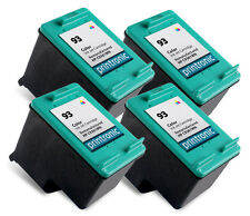 Recycled HP 93 (C9361WN) Color Ink Cartridge for HP PSC 1510 Deskjet 5440 4PK