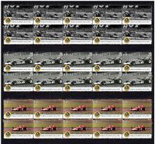 JOCHEN RINDT 1970 LOTUS F1 W/CHAMP SET OF 3 MINT VIGNETTE STAMPS