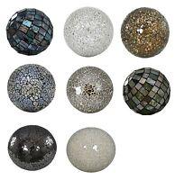 NEW Sparkle Mosaic Balls Mirrored Crackle Mosaic Decor Balls Decorative Ornament