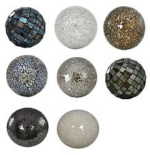 NEW Sparkle Mosaic Balls Mirrored Crackle Mosaic Decor Balls Decorative Ornament
