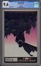 SPIDER-MAN #7 - SHALVEY BLACK PANTHER VARIANT - CGC 9.6 - 1231431010