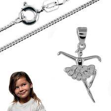 Anhänger Ballerina mit Kette-Silber 925- Inkl. Kette
