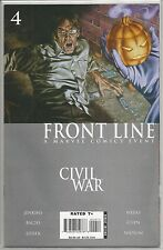 Civil War : Front Line #4, Marvel comic book from July 2006