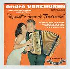 André VERCHUREN Vinyle 45T EP 1/4 D'HEURE DE TENDRESSE - FESTIVAL 45 2159 S
