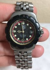 TAG HEUER FORMULA 1 PROFESSIONAL 200 METERS MEN'S WATCH PARTS OR RESTORATION