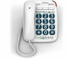BT Big Button 200 Corded Telephone - White Certified