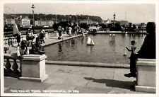 Teignmouth. The Yacht Pond # 21339 by Chapman & Son.