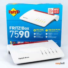 AVM FRITZ!Box 7590 Dual-Band WLAN Router, MU-MIMO, Supervectoring VDSL, wie neu
